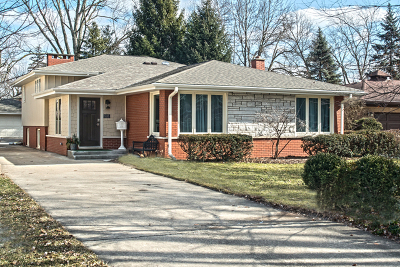 Western Springs Single Family Home For Sale: 5135 Central Avenue