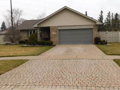 Alsip Single Family Home For Sale: 5137 West 112th Place