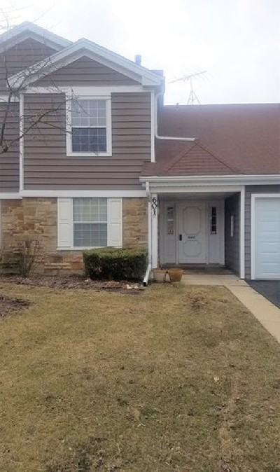 Schaumburg Condo/Townhouse For Sale: 601 Hanover Court #Z2