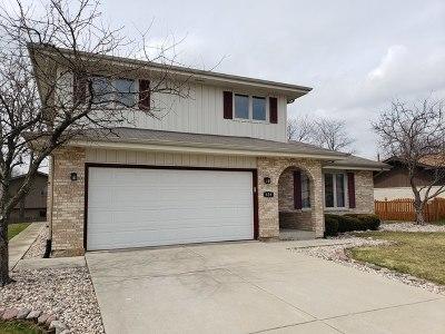 Romeoville Single Family Home Contingent: 628 Driftwood Avenue