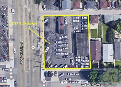 Chicago Residential Lots & Land For Sale: 2737 North Cicero Avenue