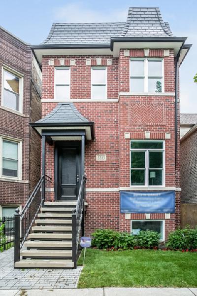 Single Family Home For Sale: 3313 North Oakley Avenue