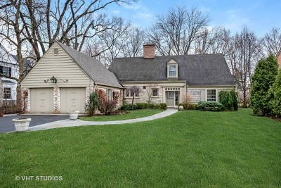 Winnetka Single Family Home For Sale: 1246 Spruce Street
