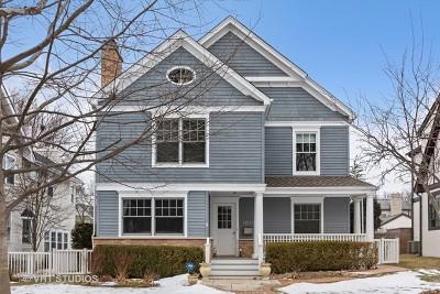 Winnetka Single Family Home For Sale: 1075 Elm Street