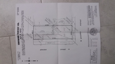 Chicago Residential Lots & Land For Sale: 3522 West Diversey Avenue West