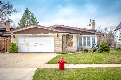 Norridge Single Family Home For Sale: 4536 North Thatcher Avenue