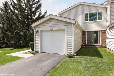 Hoffman Estates Condo/Townhouse For Sale: 658 Claridge Circle