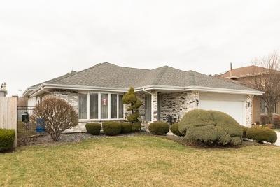 Oak Lawn Single Family Home For Sale: 10728 Georgia Lane