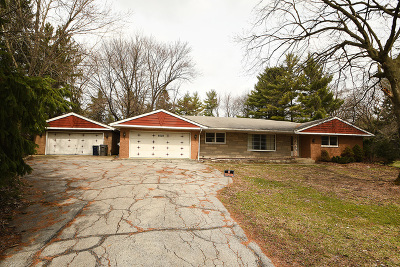 Orland Park Single Family Home For Sale: 8030 West 143rd Street