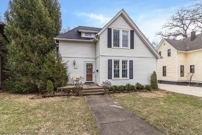 Downers Grove Single Family Home For Sale: 4921 Saratoga Avenue