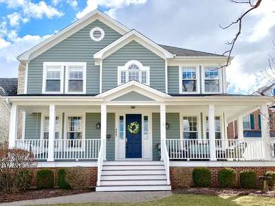 Western Springs Single Family Home For Sale: 4825 Woodland Avenue