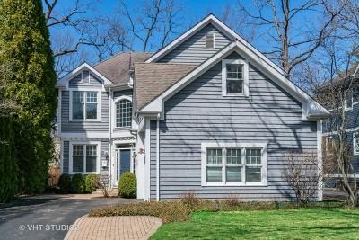 Winnetka Single Family Home For Sale: 1443 Asbury Avenue