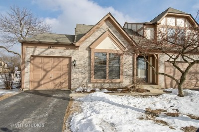 Hoffman Estates Condo/Townhouse For Sale: 4479 Olmstead Drive