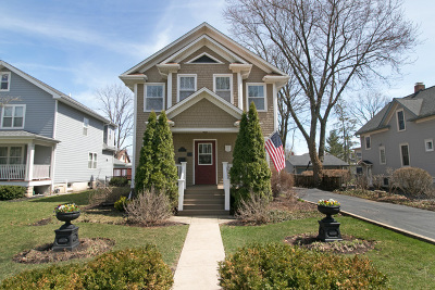 Lombard Single Family Home Price Change: 215 South Stewart Avenue