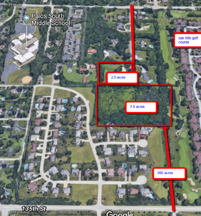 Palos Park Residential Lots & Land For Sale: 13300 South 80th Court