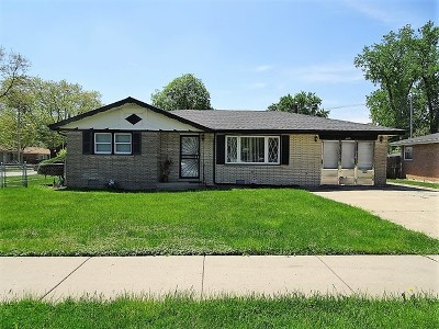 Oak Lawn Single Family Home For Sale: 6901 West 87th Street