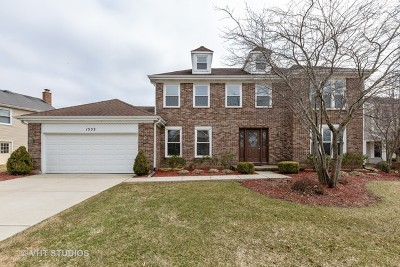 Hoffman Estates Single Family Home For Sale: 1555 Camelot Lane