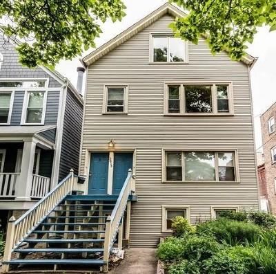 Multi Family Home Price Change: 3815 North Marshfield Avenue