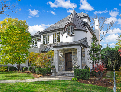 Hinsdale Single Family Home For Sale: 628 South Lincoln Street