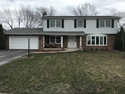 Palos Heights, Palos Hills Single Family Home Price Change: 12811 South Sycamore Lane