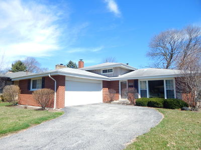 Western Springs Single Family Home For Sale: 4647 Clausen Avenue