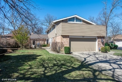 Wilmette Single Family Home For Sale: 525 Kin Court