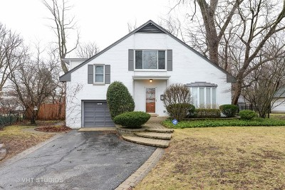 Kenilworth Single Family Home For Sale: 606 Roger Avenue