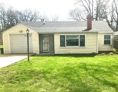 Batavia Single Family Home For Sale: 1018 South Harrison Street