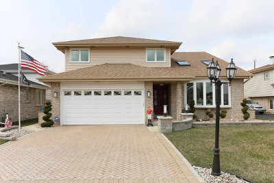 Alsip Single Family Home For Sale: 12000 South Lockwood Avenue