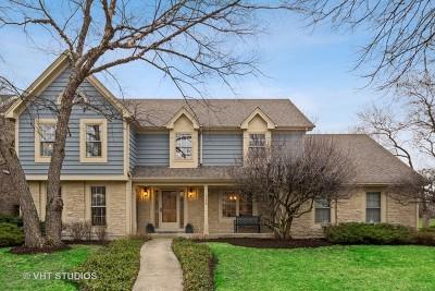 Wheaton Single Family Home For Sale: 345 Oakwood Court