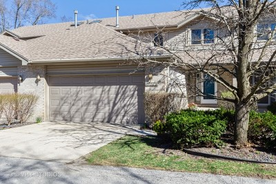 Oak Forest Condo/Townhouse For Sale: 15720 Central Avenue #3