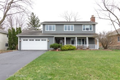 Wheaton Single Family Home Re-Activated: 26w355 Blackhawk Drive