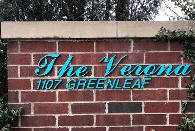 Wilmette Condo/Townhouse For Sale: 1107 Greenleaf Avenue #3H