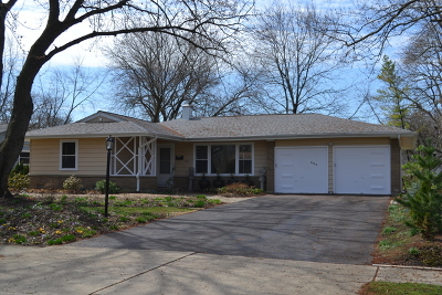 Downers Grove Single Family Home For Sale: 809 Oxford Street