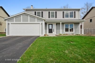 Carol Stream Single Family Home For Sale: 1003 Tioga Court