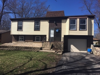 Bolingbrook Single Family Home For Sale: 232 Falcon Ridge Way