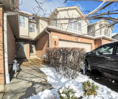 Roselle Condo/Townhouse For Sale: 612 Daisy Lane