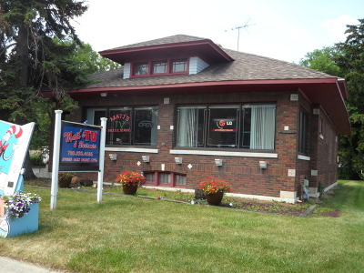Tinley Park, Orland Park Commercial For Sale: 17236 Oak Park Avenue