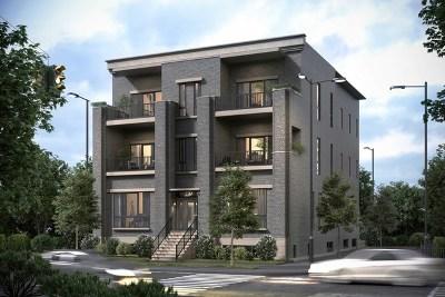 Condo/Townhouse For Sale: 2615 North Seminary Avenue #2N