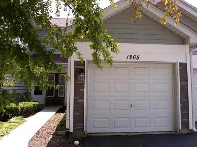 Schaumburg Condo/Townhouse For Sale: 1265 Cranbrook Drive #000