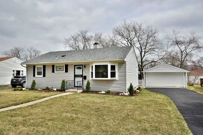 Bensenville Single Family Home Re-Activated: 437 Grace Street