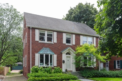 Winnetka Single Family Home For Sale: 1152 Oak Street