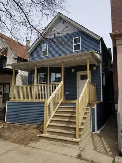 Single Family Home For Sale: 3439 North Paulina Street