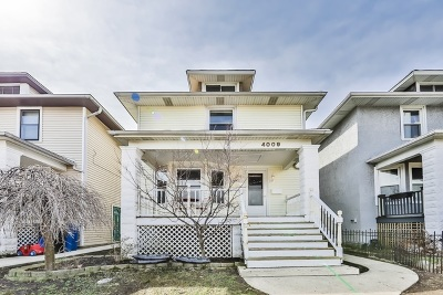 Single Family Home For Sale: 4009 West Grace Street