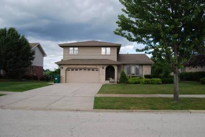Homer Glen Single Family Home For Sale: 14717 South Heathcliff Road
