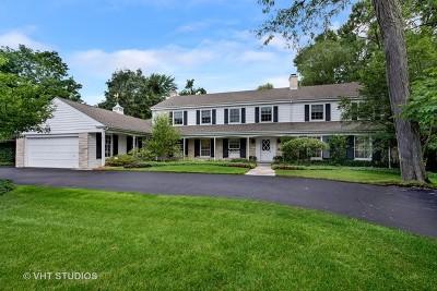Winnetka Single Family Home For Sale: 1343 Westmoor Trail