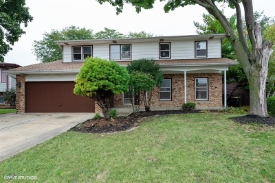 Carol Stream Single Family Home Re-Activated: 518 Flint Trail