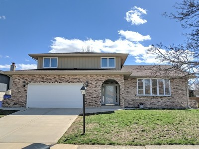 Orland Park Single Family Home For Sale: 11827 Oregon Trail