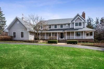 Barrington Single Family Home For Sale: 26057 West Cuba Road