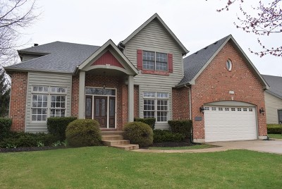 Plainfield Single Family Home For Sale: 14913 South Hawthorn Circle